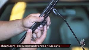 windshield wiper blades replacement how to replace install fix