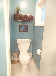 paint the master bath water closet a fun color to brighten it up