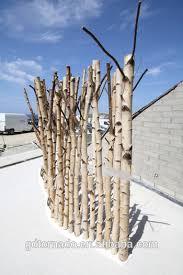 ornamental decorative artificial bare trees using silver birch