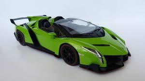Lamborghini Veneno Green - 1 18 kyosho lamborghini veneno roadster youtube