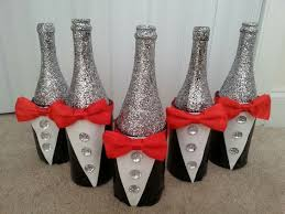 bows for wine bottles tuxedo wine bottle centerpieces give a touch of elegance to any