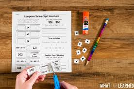 cut u0026 paste math activities for every second grade standard