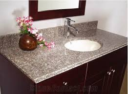 Custom Bathroom Vanity Tops China G623 Granite Bathroom Vanity Tops Custom Intended For