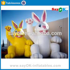 Easter Bunny Decoration Games by Inflatable Easter Bunny Costume Decoration Sales Inflatable Rabbit