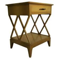 renzo rutili ivory and brass nightstand johnson furniture co