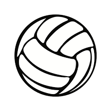 cool volleyball ball clipart clipartxtras