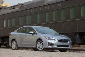 2017 subaru impreza sedan white first drive 2017 subaru impreza automobile magazine