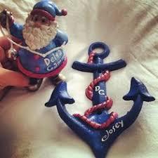 delta gamma ornament anchored in delta gamma