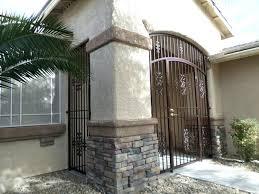 front door iron gate front door and blue the villa 3 wrought
