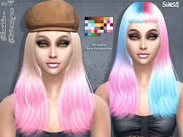 hair color to download for sims 3 sintikliasims sintiklia hair s17 still into you