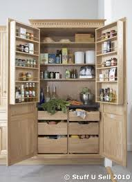 White Kitchen Pantry Storage Cabinet Kitchen Designs Storage Units Nfc Oak Larder Cabinet Pantry