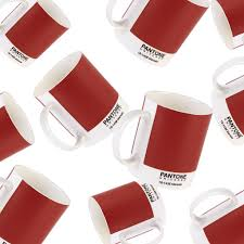 pantone colour of the year 2015 ltd edition marsala mug
