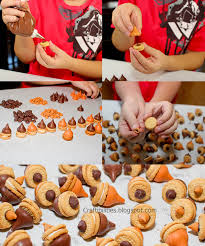 nutty class gift thanksgiving acorn treats