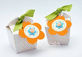 Birthday Favor Boxes by Island Oasis Favor Box Chic N Scratch