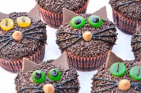 Halloween Cat Cake by Just Jenny Lynne Halloween Kitty Cat Cupcakes