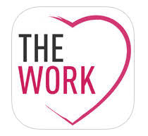 the new app for the work is out from byron katie