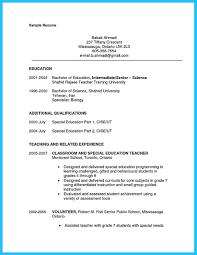 resume for teaching position template sample resume of educational assistant kindergarten teacher description resume sample cover letter teaching position cover letter for teacher cover letter template
