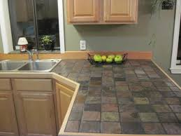 Kitchen Countertops Ideas by Best 25 Slate Countertop Ideas On Pinterest Dark Countertops