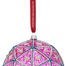 waterford times square masterpiece ornament 2018