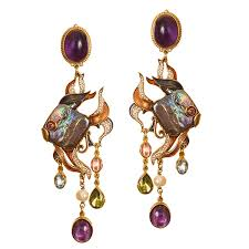 percossi papi earrings diego percossi papi black pearl earrings dg 2586 lovemyswag