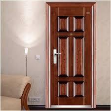 Steel Interior Security Doors China Steel Door Factory Cheap Price Long Use Life Nice Design
