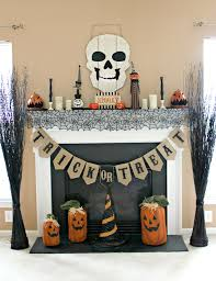 diy vintage halloween mantel refresh on a budget