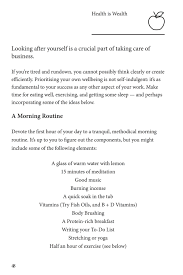 how to build a morning routine an excerpt from the handbook
