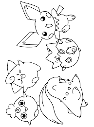 togepi coloring pages pokemon coloring pages