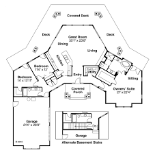 ranch style house plan 3 beds 2 baths 2191 sq ft plan 124 472