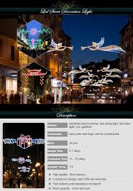 customized commercial outdoor led christmas decorations motifs