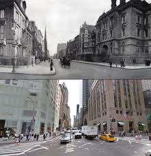 Home Goods In New York Fifth Avenue Then And Now A Century Of Streetviews In New York