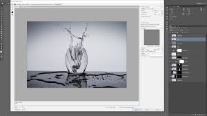 photography shooting table diy how to photograph and post process water splashes using minimal