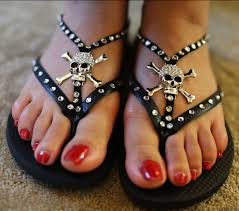 Images of Skull Sandals Shoes