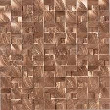 copper backsplash tiles for kitchen modern twist with 1 x 2 copper tiles can you say bar backsplash
