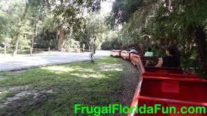little florida coastline train ride frugal florida fun