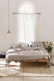 bedroom wooden bed modern diy eclectic bedroom ideas modern