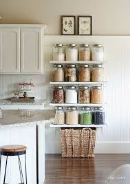 decorating ideas for kitchen shelves 15 things organized in their homes organizing jar and