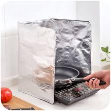 anti eclaboussure cuisine panneau anti éclaboussures pour cuisine feuille d aluminium argent