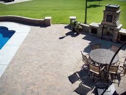large patio pavers the important things about paver patio design inspiring home ideas