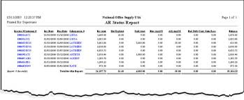 ar report template account receivable report fieldstation co