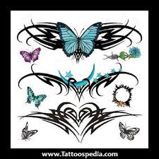 tribal tattoos for women on lower back 2015