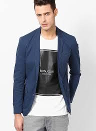 casual blazer buy jones blue casual blazer for india best