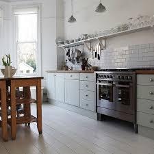 retro kitchen ideas white duck egg blue modern retro kitchen home kitchens