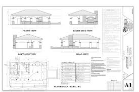 Floor Plan Front View by Home