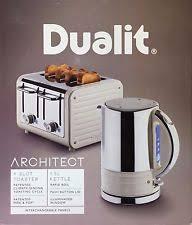 Toaster Kettle Set Dualit Stainless Steel Tea Kettle U0026 Toaster Sets Ebay