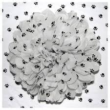 paw print tissue paper white paw print tissue paper