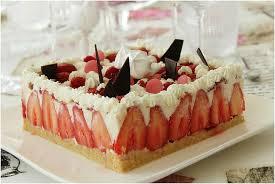 jeux de aux fraises cuisine gateaux gâteau mousse au chocolat blanc citron vert fraises et framboises
