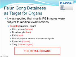 forced organ harvesting still happening in china say experts and