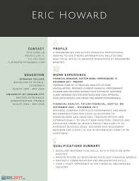 Financial Resume Example by Finest Resume Samples For Experienced Finance Professionals