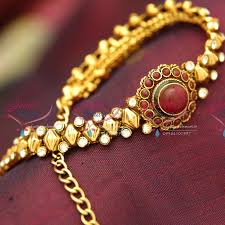 antique gold bracelet images Ba3991 antique gold plated low price chain watch type bracelet JPG